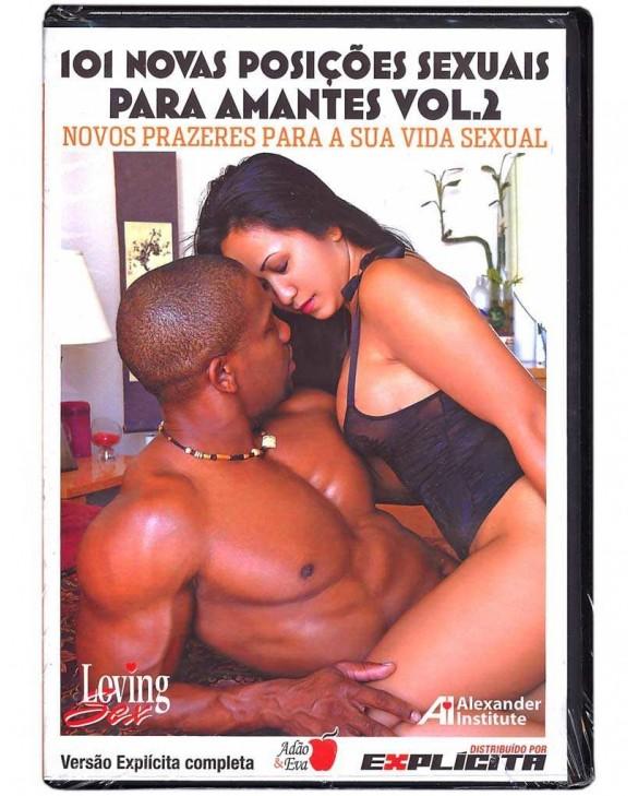 DVD 101 NOVAS POSIÇÕES SEXUAIS PARA AMANTES VOLUME DOIS foto 1