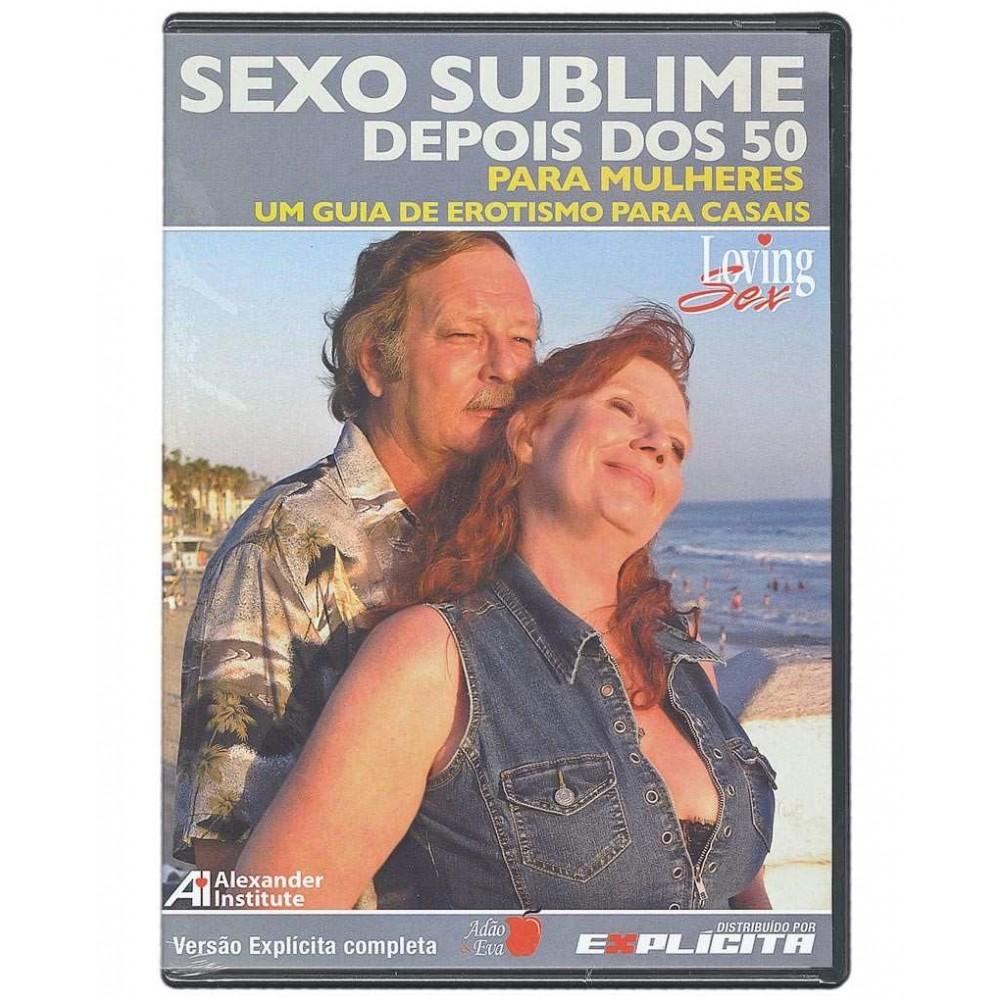 DVD SEXO SUBLIME DEPOIS DOS 50 - PARA MULHERES foto 1