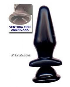 PLUG CLÁSSICO SUPER BLACK COM VENTOSA foto 1