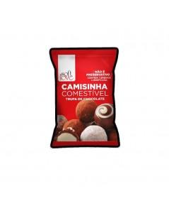 CAMISINHA COMESTÍVEL TRUFA COM CHOCOLATE foto 1