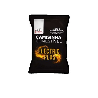 CAMISINHA COMESTÍVEL ELECTRIC PLUS foto 1