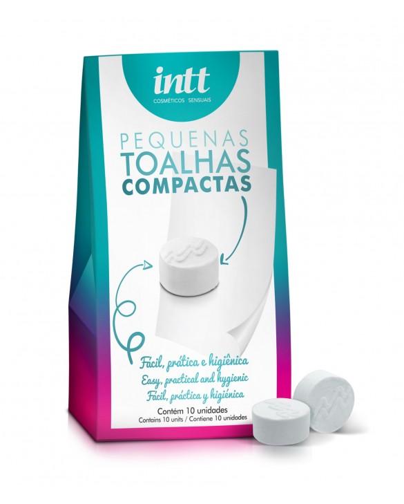 TOALHAS COMPACTAS COM 10 UNIDADES