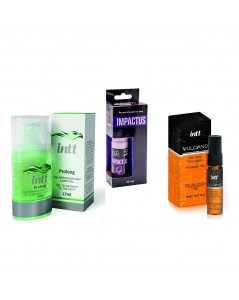 KIT HOMEM TOTAL PROLONGADOR AUMENTADOR E EXCITANTE