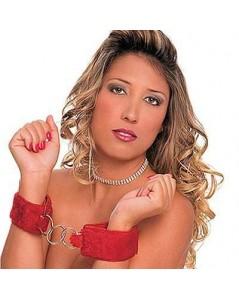 ALGEMAS DE PELÚCIA EM VINIL COM VELCRO foto 2