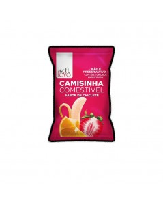 CAMISINHA COMESTÍVEL CHICLETE foto 1