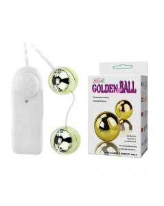 GOLDEN BALLS DE 35MM PARA POMPOARISMO COM VIBRADOR VARIÁVEL foto 1