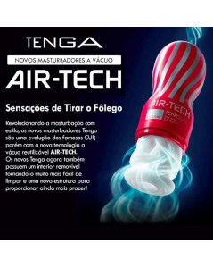 MASTURBADOR TENGA ORIGINAL AIR-TECH REGULAR foto 3