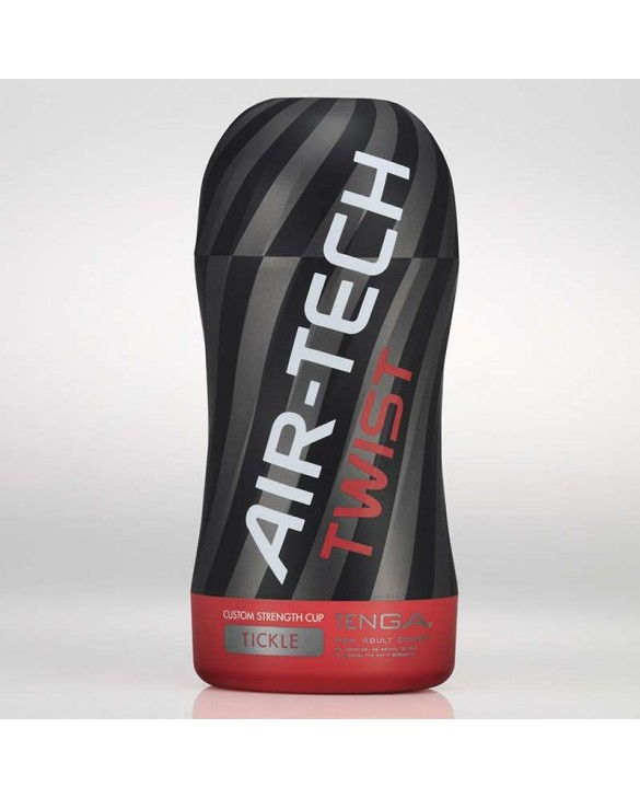TENGA AIR-TECH TWIST RED TICKLE foto 1