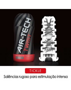 TENGA AIR-TECH TWIST RED TICKLE foto 3