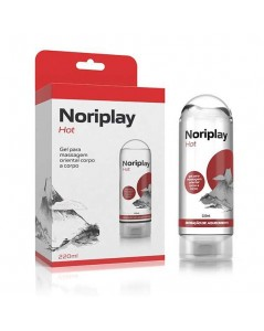 NORIPLAY HOT 200ML GEL MASSAGEM TAILANDESA LENÇOL PROTETOR foto 4