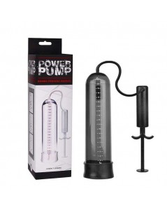 BOMBA PENIANA MANUAL POWER PUMP PRETA foto 2