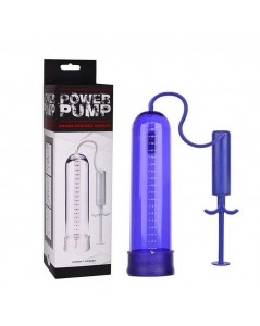 BOMBA PENIANA MANUAL POWER PUMP AZUL foto 2
